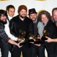 The Zac Brown Band, gagnant  lors des Grammy Awards le 31 janvier 2010