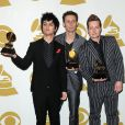 Green Day gagnant  lors des Grammy Awards le 31 janvier 2010