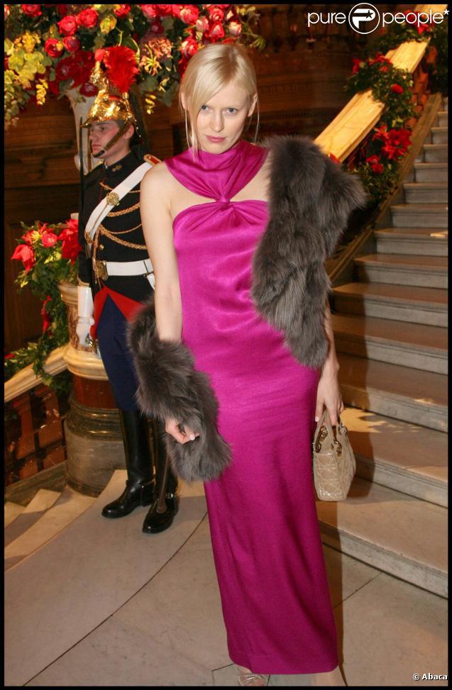 Anna Sherbinina lors du Gala de l'Opéra Garnier