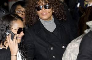 Whitney Houston : Jamais sans sa fille... même à l'autre bout du monde !