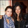 Emma de Caunes et Mylène Jampanoï ont fait la fête à l'Arc le 4 février 2010