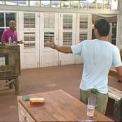 La Ferme Célébrités en Afrique : Regardez David et Francky nous offrir un super clash,  et Adeline... au bout du rouleau !