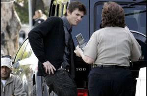 Photos : Ashton Kutcher se fait plaisir sur le tournage de son dernier film...