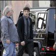 Ashton Kutcher sur le tournage de Spread