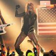 La chanteuse Kesha donne un concert à New York le 14 février 2010
