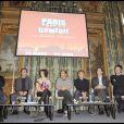 Conférence de presse du festival Paris fait sa comédie, à l'Hôtel de Ville de Paris, le 18 février 2010 !