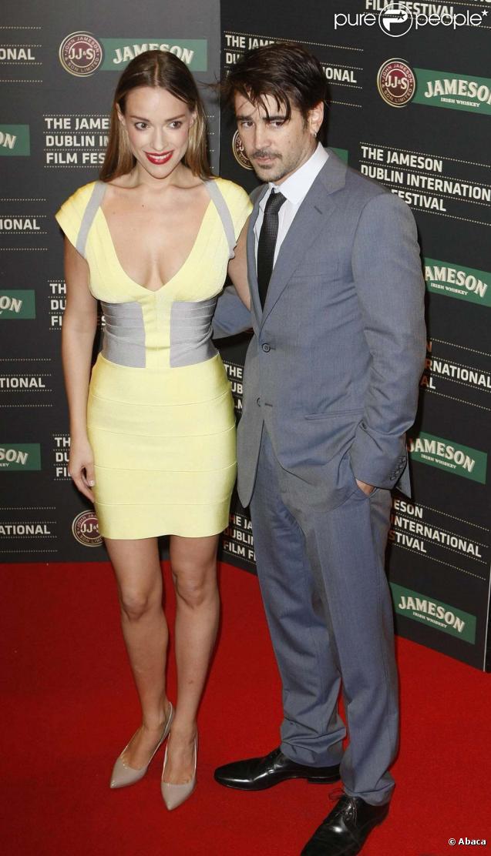 Colin Farrell et la belle Alicja Bachela-Curus, à l'avant-première de  Ondine , à Dublin, le 18 février 2010 !