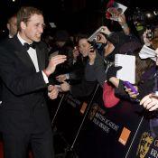 Le prince William éclipse Kate Winslet et... fait la paix avec Vanessa Redgrave !