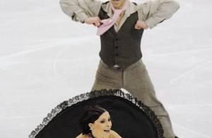 Isabelle Delobel et Olivier Schoenfelder : ils patineront demain pour la dernière fois... pour l'honneur !