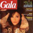 Isabelle Adjani en couverture de Gala