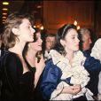 Isabelle Adjani, lors de la soirée après les César en 1982, année où elle a reçu le prix pour Possession