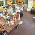 Petit déjeuner houleux : David est surpris que Francky donne des ordres à Kelly