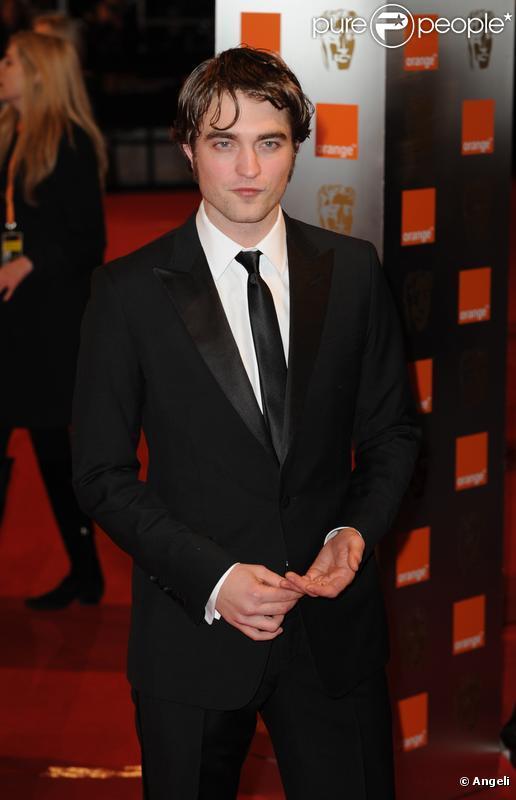 L'acteur britannique Robert Pattinson