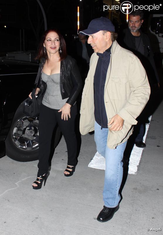 Gloria Estefan et Tommy Mottola à Miami