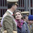 Letizia et Felipe en Espagne, plus amoureux que jamais. Le 29 février 2010