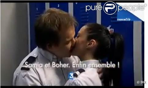 Samia et Boher dans Plus Belle La Vie