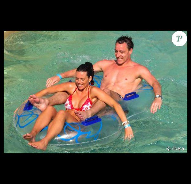 John Terry en famille à Dubaï le 14 février