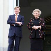 La reine Beatrix, toute pimpante, et son grand fiston, tout sourire, méritent vraiment une médaille !