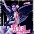 Famke Janssen pour la campagne PETA