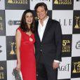 Colin Firth et son épouse Livia aux Spirit Awards, à Los Angeles, le 05/03/2010.