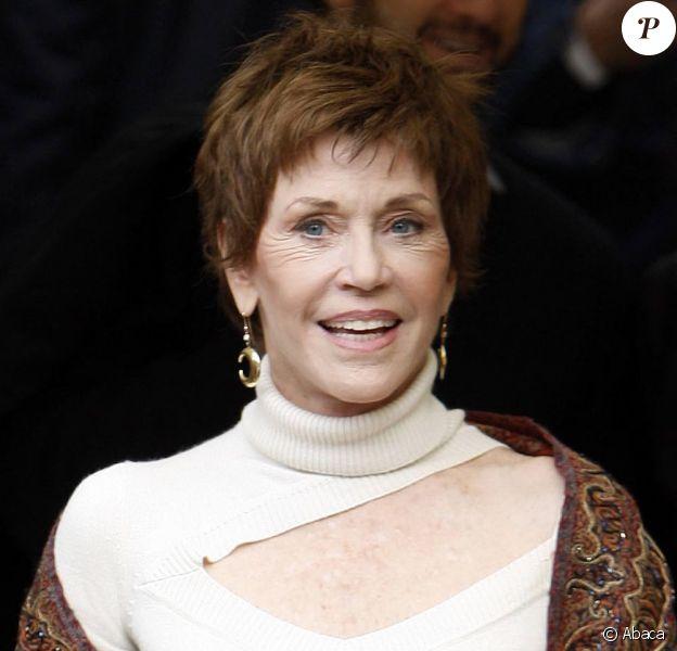 Jane Fonda et sa nouvelle coupe de cheveux ! (6 mars 2010)