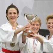 Nicolas Sarkozy fan de... Chantal Jouanno, championne de France de Karaté !