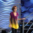 Isabelle Caro invitée à la télévision italienne, dans l'émission Barbareschi Sciock, le 5/03/2010