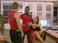 La Ferme Célébrités en Afrique : Regardez Hermine se réconcilier avec Surya et Kelly... Et Christophe a un beau cocard !