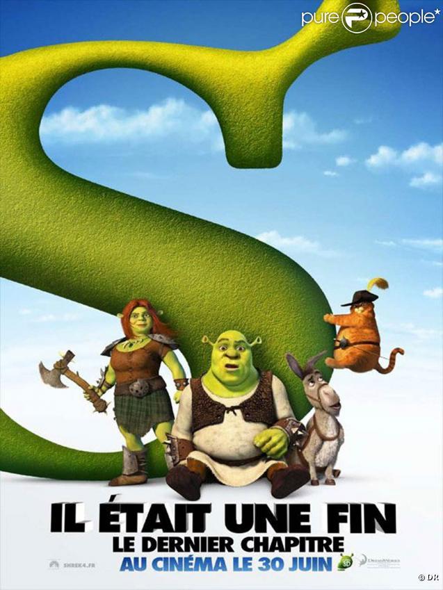 Des images de  Shrek 4, il était une fin.