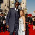 Shaquille O'Neal, pivot star des Cleveland Cavaliers, et sa femme Shaunie divorcent...