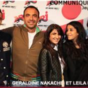 Regardez Géraldine Nakache imiter avec talent Céline Dion ! Leïla Bekhti en est pliée de rire !