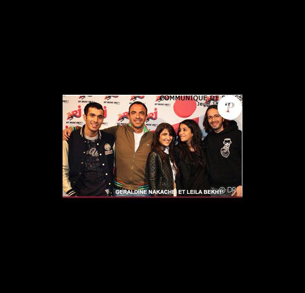 Géraldine, Leïla, Nikos, Mustapha et Florian