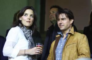 Tom Cruise s'ennuie avec Katie Holmes mais retrouve le sourire grâce à son nouveau meilleur ami... Chris Brown !