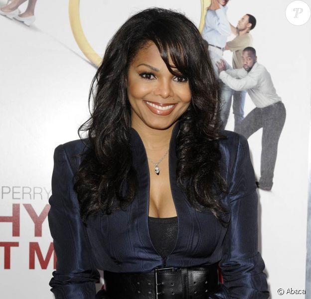 Janet Jackson à New York pour la première du film Why Did I Get Married Too ?, le 22 mars 2010
