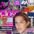 Loana en couverture de Closer