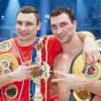 Wladimir Klitschko, champion du monde de boxe
