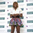 Serena Williams lors de la remise des récompenses de la WTA à Miami le 24 mars