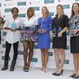 Les lauréates des récompenses de la WTA à Miami le 24 mars