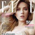 Scarlett Johansson en couverture du magazine  ELLE  Canada