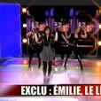 Emilie chante Contradiction sur le plateau de 24H People