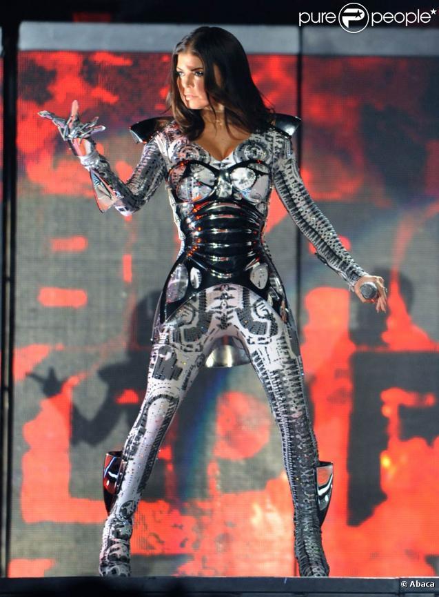 Les Black Eyed Peas en concert au Staples Center à Los Angeles, le 29 mars 2010