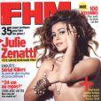 Julie Zenatti en couverture de  FHM ...