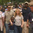 Shakira à Port au Prince le 11 avril