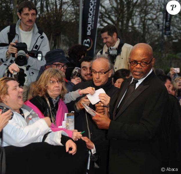 Samuel L. Jackson au Festival International du Film Policier de Beaune, le 8 avril 2010 !