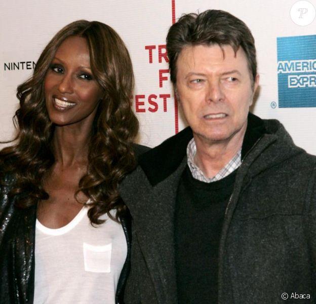 Iman et David Bowie
