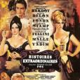 Alain Delon et Brigitte Bardot dans Histoires Extraordinaires