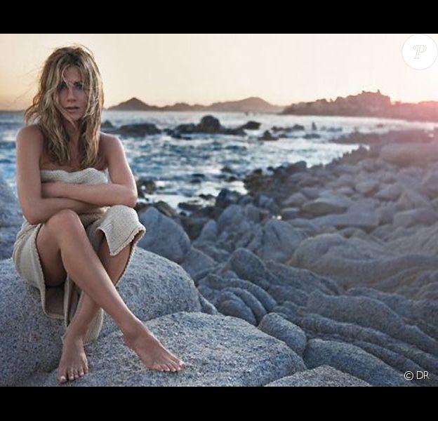 Jennifer Aniston pour son parfum Lolavie