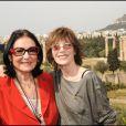 Nana Mouskouri et Jane Birkin au festival du film francophone de Grèce (17 avril 2010 en Grèce)