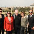 Farida Khelfa, Nana Mouskouri Jean-Paul Gaultier, Jane Birkin et Nikos Aliagas au festival du film francophone de Grèce (17 avril 2010 en Grèce)