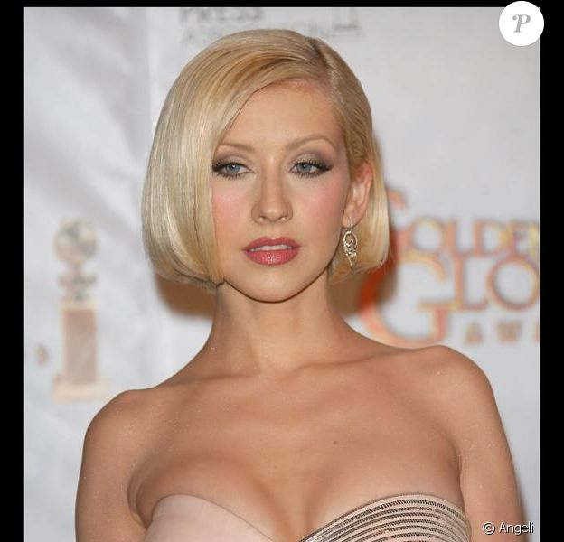 La chanteuse et actrice Christina Aguilera